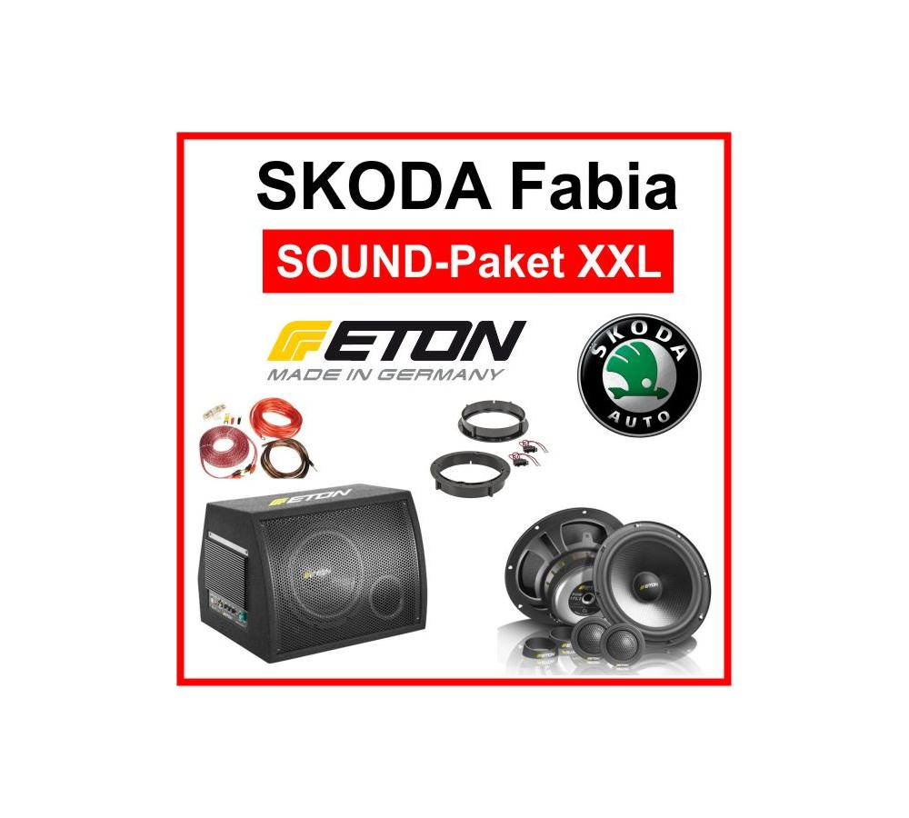 skoda fabia lautsprecher boxen skoda fabia subwoofer. Black Bedroom Furniture Sets. Home Design Ideas