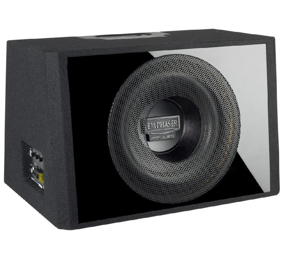 emphaser ebr112 p6a subwoofer mit endstufe verst rker. Black Bedroom Furniture Sets. Home Design Ideas