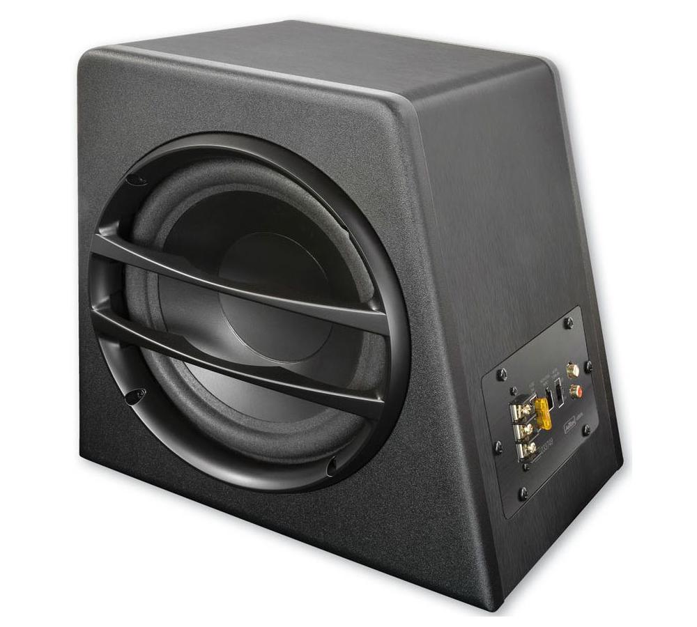 aktiv subwoofer axton axb20a kleiner subwoofer mit. Black Bedroom Furniture Sets. Home Design Ideas