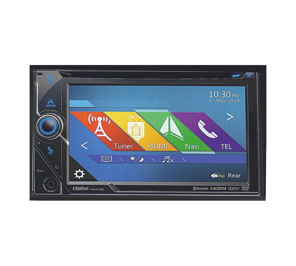 wohnmobil navi clarion nx405e lkw navigation usb bluetooth. Black Bedroom Furniture Sets. Home Design Ideas